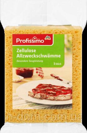 DM Profissimo Allzweckschwamme Zellulose губки универсальные целлюлозные 3 шт.