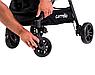 Дитяча прогулянкова коляска CARRELLO Eclipse CRL-12001 + дощовик світло-сірий колір. Дитячий візок, фото 2
