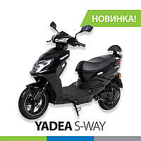 Електро Скутер YADEA S-WAY 45 км/час двигатель 1500 Вт пробег до 80 км АКБ 72V20Ач