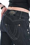 Женские джинсы ОMATjeans 9574-806 синие, фото 7