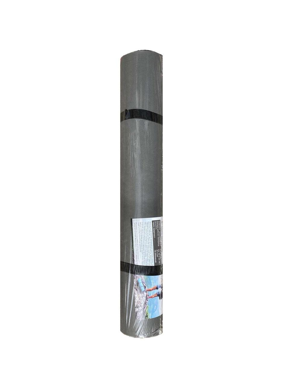 Килимок для фітнесу і йоги сірий, т. 3 мм, 60х180 см, EVA, 130 кг/м3, виробник Україна, TERMOIZOL®