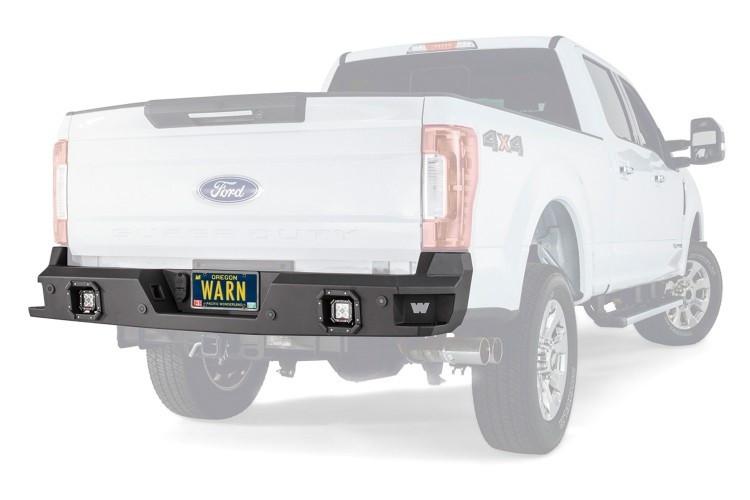 Задний бампер силовой Warn для Ford F150 17-18 с местом под ПТФ