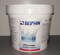 Средство для повышения уровня РН воды в бассейне Delphin рН-Плюс гранулированный 25кг