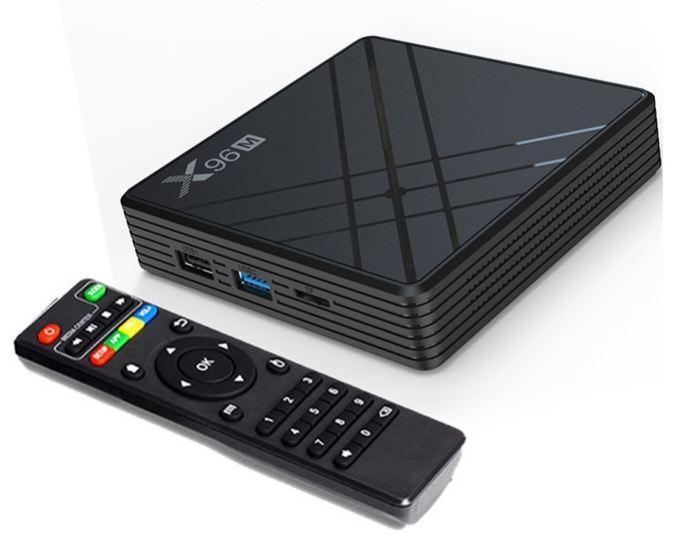 X96M 4/64, Allwinner H603, Android 9, Android TV Box, Смарт ТВ Приставка (+ Налаштування)