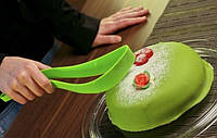 Кондитерский нож для торта Magisso Cake Server Зеленый , кондитерский нож - лопатка для порционной нарезки, фото 1
