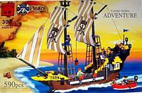 """Конструктор Brick 307 """"Пиратский корабль"""", Конструктор Брик"""