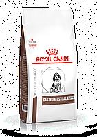 Сухой лечебный корм для щенков при нарушении пищеварения  Royal Сanin Gastro Intestinal Puppy 2,5КГ