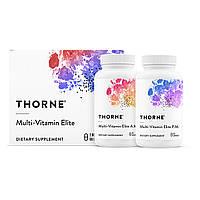 Мультивитамины Элит, Multi-Vitamin Elite A.M. & P.M., Thorne Research, 2 баночки по 90 капсул