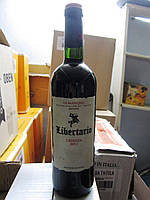 Вино красное Libertario La Mancha Crianza (Либертарио Ла Манча Крианца) 2012 г