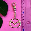 Брелок Мазда серебро - Мазда серебряный брелок, фото 5