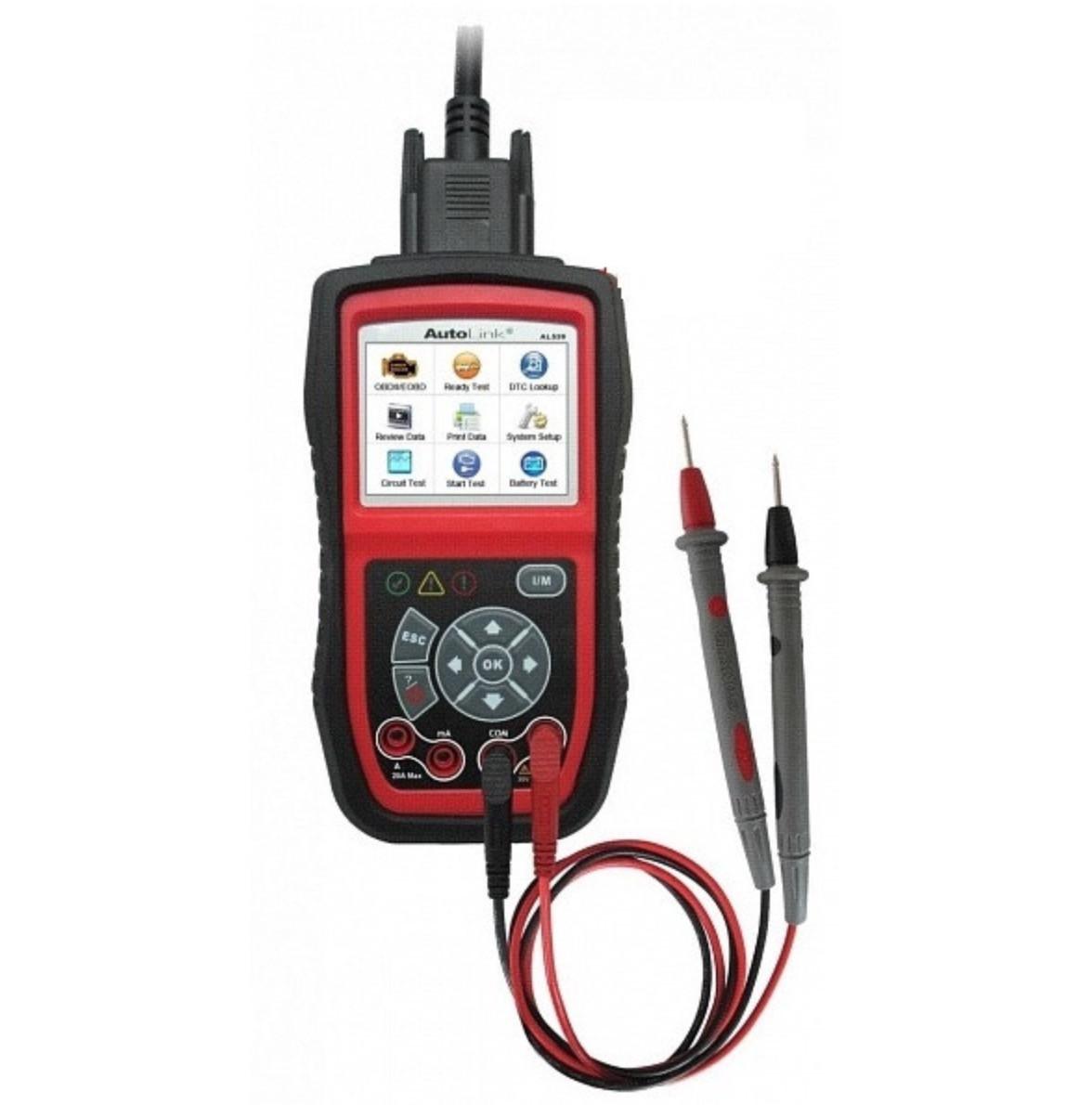 Автосканер-тестер Autel Autolink Al539