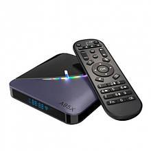 Медіаплеєр Смарт ТВ-приставка ITM A95X F3 (2/16 4/32 4/64 GB) Smart TV Box