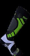 Горнолыжные носки Spring Черно-зеленый 881 black-green M39-42, КОД: 1495439