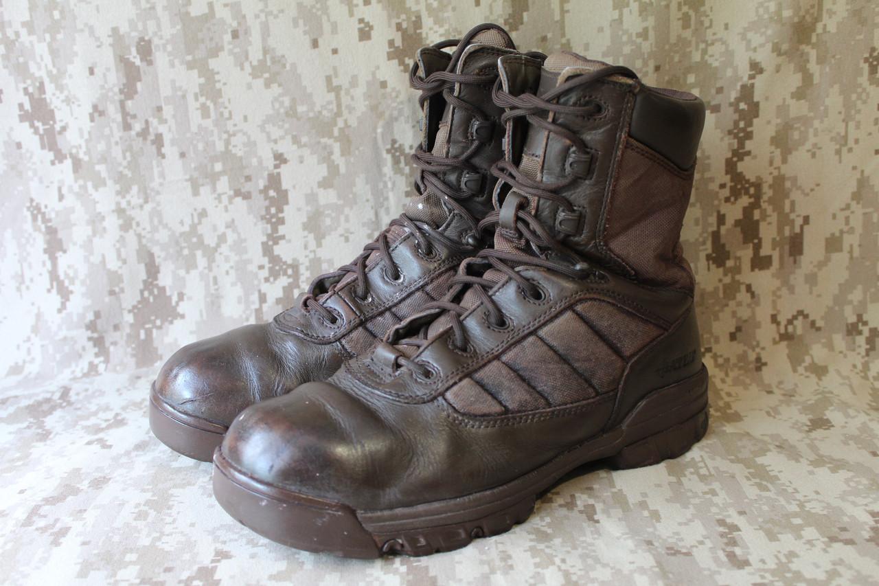Ботинки EU 44 военные Bates Boots Patrol оригинал ВС Великобритании Б/У - Brown - Лот 176