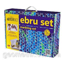 Набор для рисования на воде Эбру 8 цветов, ArtDeco (Турция, набор для творчества, наборы для Эбру, Ebru)