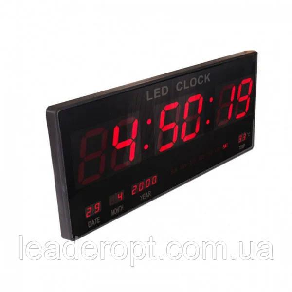 ОПТ Электронные настенные часы CW 4622 RED