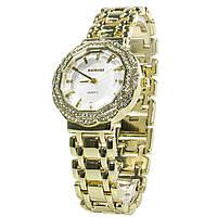 Наручные часы Baosaili BSL1029 с камнями женские кварцевые Золотистый 3083-8915, КОД: 1385256