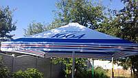 Зонт 4х4 торговий садовий пляжний барний тент від сонця 4х4 вуличний тросовий квадратний, фото 5