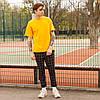 Футболка мужская жёлтая (горчичная)   Quil (Квил) бренд Тур  размер XS, S, M, L, XL, фото 2