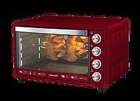 Електродуховка Liberton LEO-651 Dark red - 65 л, конвекція, гриль, 2000 Вт