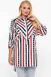 Рубашка женская Стиль полоска, фото 7