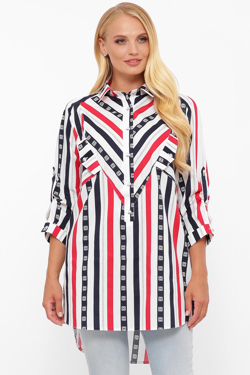 Рубашка женская Стиль полоска