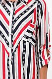 Рубашка женская Стиль полоска, фото 9