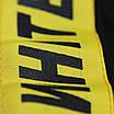 Футболка мужская черная с желтым принтом OFF-WHITE №5, лента Ф-11 BLK M(Р) 19-644-020-002, фото 3
