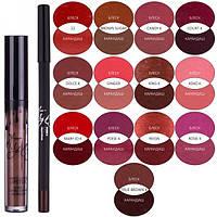 Комплект для губ Kylie matte liquid lipstick & lip liner (30-4)