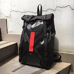 Рюкзак роллтоп чёрного цвета Джекс