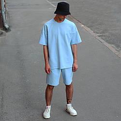 Футболка мужская голубая Quil (Квил) бренд Тур размер XS, S, M, L, XL