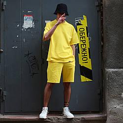 Шорты мужские желтые бренд ТУР модель Duncan (Дункан) размер S, M, L, XL