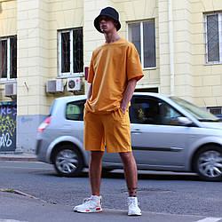 Шорты мужские оранжевые бренд ТУР модель Duncan (Дункан) размер S, M, L, XL
