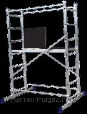 Строительный помост алюминиевый рабочая высота 3.0 (м), фото 2