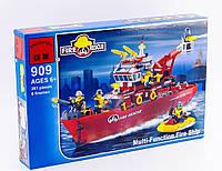 """Детский конструктор Brick 909 """"Пожарная охрана - катер"""", Конструктор Брик"""