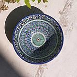Супница 400 мл, d 15 см, h 7 см. Ручная роспись. Узбекистан (5), фото 3