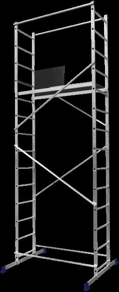 Помост будівельний алюмінієвий робоча висота 5.0 (м)