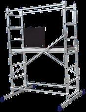 Помост будівельний алюмінієвий робоча висота 5.0 (м), фото 2