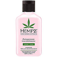 Увлажняющий лосьон для тела с гранатом Hempz Pomegranate Herbal Body Moisturizer 66 мл