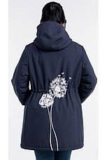 Ветровка женская с капюшоном размеры 54-64, фото 2