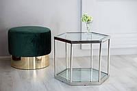 """Стол кофейный стильный стекло """"Сота1"""", фото 1"""