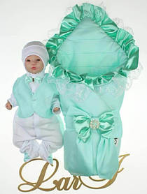 """Демисезонный набор для новорожденных мальчиков """"Милена"""""""