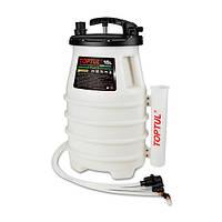Приспособление для откачки технических жидкостей 15 л. (ручное) TOPTUL JJBZ0115 (Тайвань)