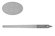 Суцільнометалева пилка з подвійними насічками Lady Victory LDV EBG-16 /32-0