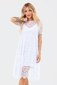 Жіноче плаття з мережива Starla, білий