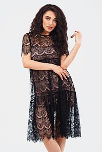 Жіноче мереживне плаття Starla, бежевий