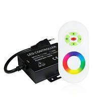 Контролер RGB 220В 1500W-RF-5 кнопок OEM