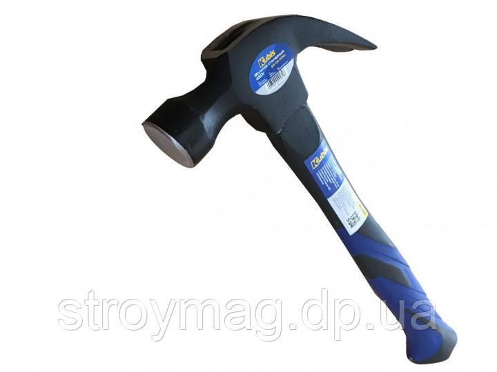 Молоток столярний Kubis 450г фиберглассовая ручка (02-02-0260)