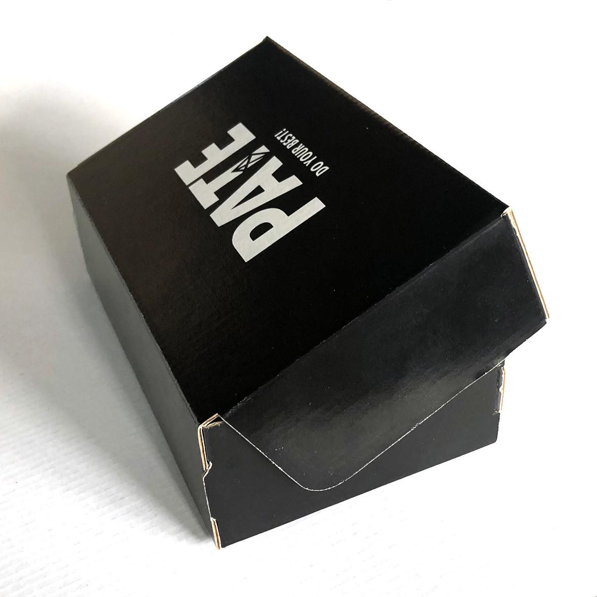 Коробка для шкарпеток з логотипом 230х100х60 мм