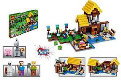 "Конструктор Minecraft ""Фермерский коттедж"" 546 деталей."